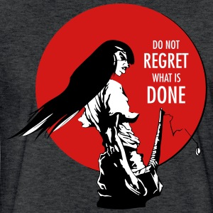 Samurai - Do not regret T-Shirts - Fitted Cotton/Poly T-Shirt by Next Level
