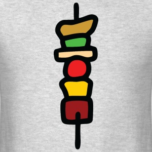 Grill spit colorful T-Shirts - Men's T-Shirt