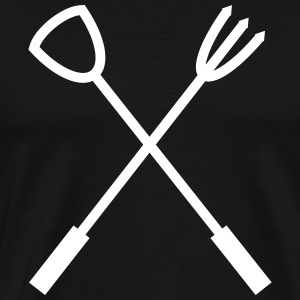 Barbecue cutlery BBQ T-Shirts - Men's Premium T-Shirt
