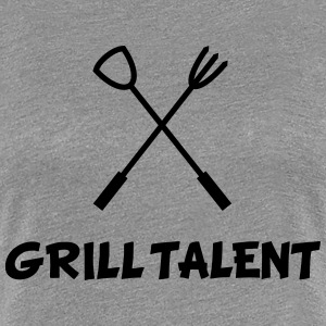 Grill Talent Women's T-Shirts - Women's Premium T-Shirt