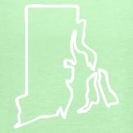 Design ~ Rhode Island Outline Womens