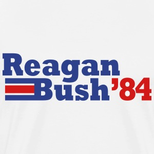 reagan bush 84 t-shirt - Men's Premium T-Shirt