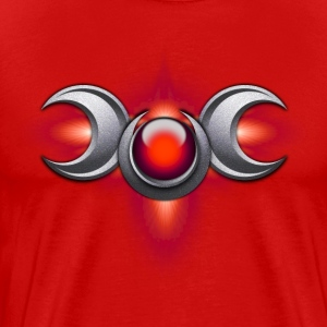 Red Triple Goddess - Men's Premium T-Shirt