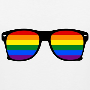 Glasses Rainbow Gay Sportswear - Men's Premium Tank
