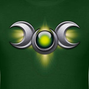 Green Triple Goddess - Men's T-Shirt