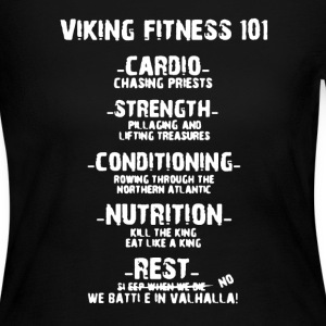 Viking Fitness 101 Shirt - Women's Long Sleeve Jersey T-Shirt