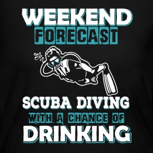 Scuba Diving Shirt - Women's Long Sleeve Jersey T-Shirt