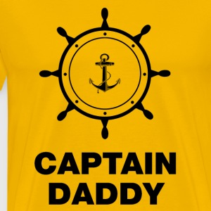 Captain Daddy T-Shirts - Men's Premium T-Shirt