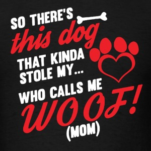 Heart Woof Shirt - Men's T-Shirt