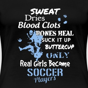 Soccer Girl Player Shirt - Women's Premium T-Shirt