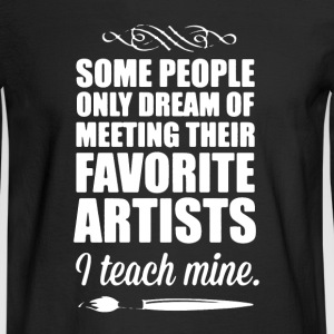 Art Teacher Shirt - Men's Long Sleeve T-Shirt