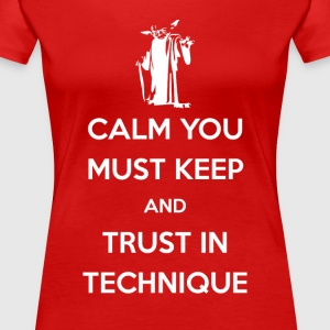 Calm You Must Keep Brazilian Jiu Jitsu T-shirt Women's T-Shirts - Women's Premium T-Shirt