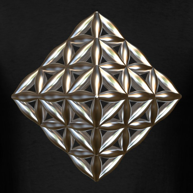 Flower Of Life Octahedron Au