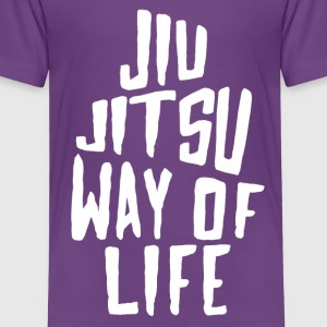 Jiu Jitsu Way of Life Brazilian Jiu-Jitsu T-shirt Baby & Toddler Shirts - Toddler Premium T-Shirt