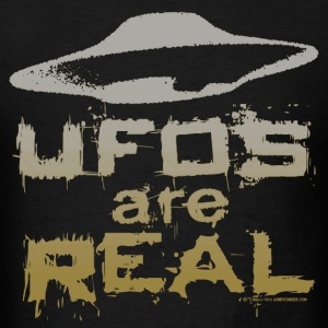UFOs Are Real T-Shirts - Men's T-Shirt