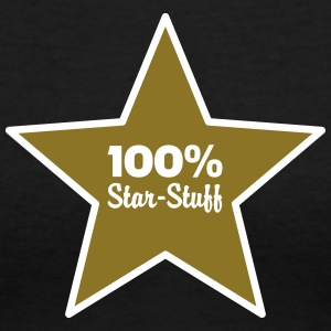 100% Star-Stuff (2 Color) Women's T-Shirts - Women's V-Neck T-Shirt
