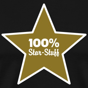 100% Star-Stuff (2 Color) T-Shirts - Men's Premium T-Shirt