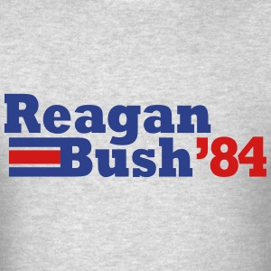 reagan bush 84 t-shirt - Men's T-Shirt