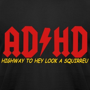 ad hd t-shirt - Men's T-Shirt by American Apparel