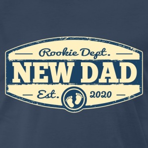 New Dad 2020 Rookie Dept T-Shirts - Men's Premium T-Shirt
