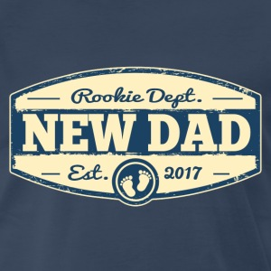 New Dad 2017 Rookie Dept T-Shirts - Men's Premium T-Shirt