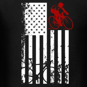 Bicycle Flag Shirt - Men's T-Shirt