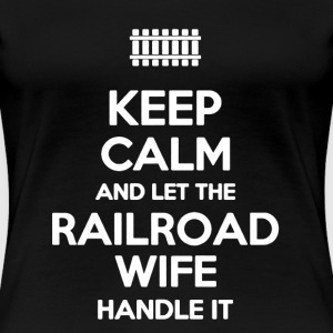 Railroad Shirt - Women's Premium T-Shirt