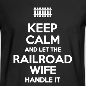 Railroad Shirt - Men's Long Sleeve T-Shirt