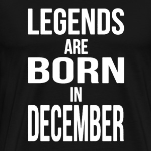 Born in December Shirt - Men's Premium T-Shirt