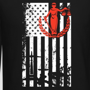 Lawyer Flag Shirt - Crewneck Sweatshirt
