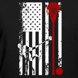 Lacrosse Flag Shirt - Women's T-Shirt