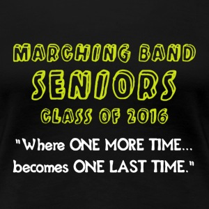 Marching Band Seniors - Women's Premium T-Shirt