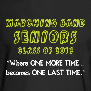 Marching Band Seniors - Men's Long Sleeve T-Shirt