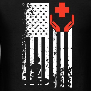 Physical Therapist Flag - Men's T-Shirt