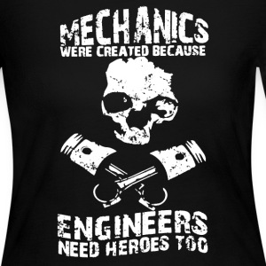 Mechanics Engineers Shirt - Women's Long Sleeve Jersey T-Shirt