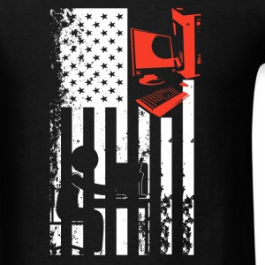Programmer Flag Shirt - Men's T-Shirt