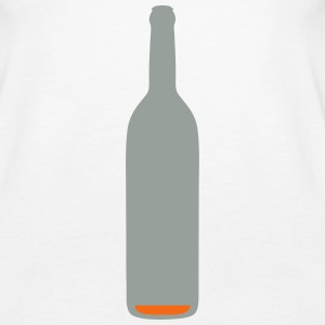 bottle almost empty alcohol background 1 Tanks - Women's Premium Tank Top