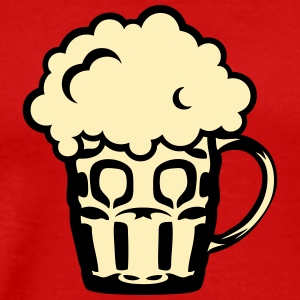 alcohol beer drawing drink icon 131 T-Shirts - Men's Premium T-Shirt