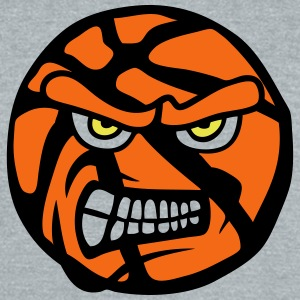 basketball cartoon face fierce 13 attack T-Shirts - Unisex Tri-Blend T-Shirt by American Apparel
