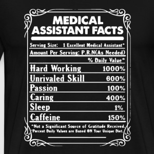 Medical Assistant Shirt - Men's Premium T-Shirt