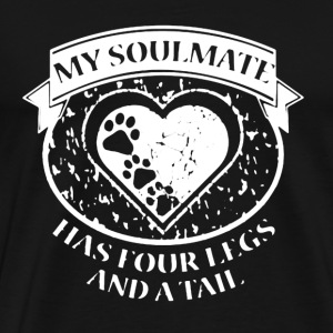 Dog is My Soulmate - Men's Premium T-Shirt
