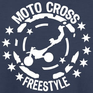 freestyle motocross motorcycle 21 1 wing Kids' Shirts - Kids' Premium T-Shirt