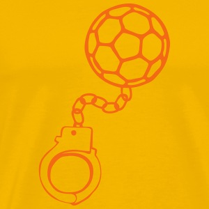 handcuff bracelet ball handball T-Shirts - Men's Premium T-Shirt