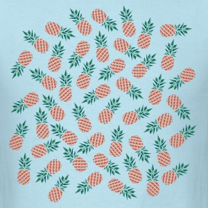 Pineapple Pattern T-Shirts - Men's T-Shirt