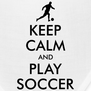 KEEP CALM and PLAY SOCCER Caps - Bandana