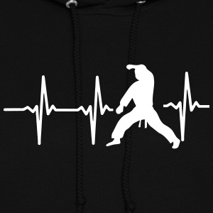 MY HEART BEAT FOR MARTIAL ARTS! Hoodies - Women's Hoodie