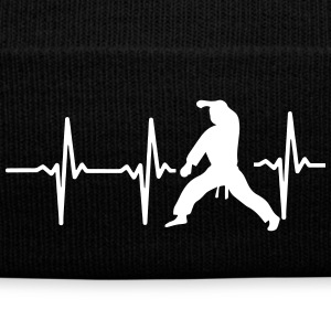 MY HEART BEAT FOR MARTIAL ARTS! Sportswear - Knit Cap with Cuff Print