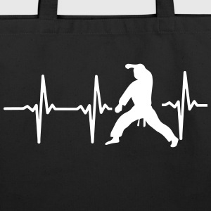 MY HEART BEAT FOR MARTIAL ARTS! Bags & backpacks - Eco-Friendly Cotton Tote