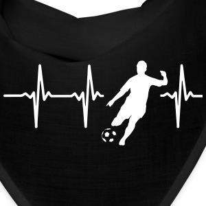 MY HEART BEATS FOR SOCCER! Caps - Bandana