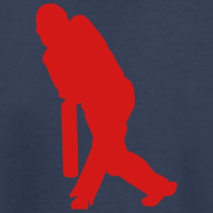 silhouette cricket player 13032 Kids' Shirts - Kids' Premium T-Shirt